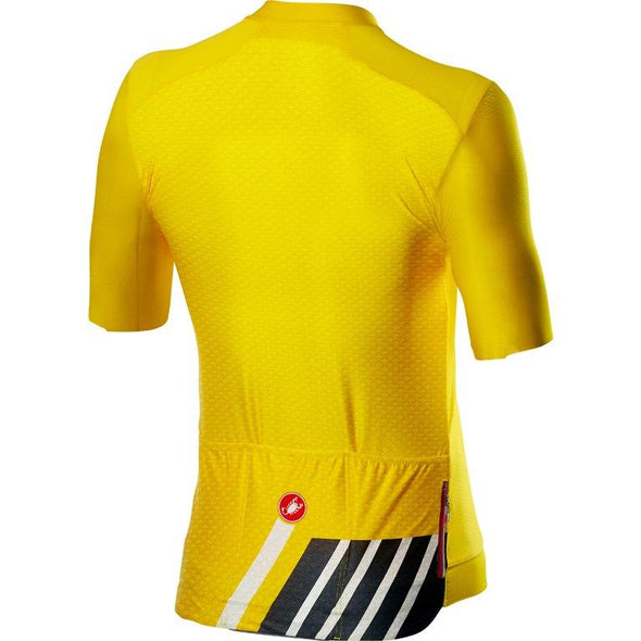Castelli Hors Categorie Jersey - Yellow - Classic Cycling