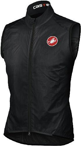 Castelli Leggero Cycling Vest - Black - Classic Cycling