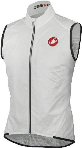 Castelli Leggero Cycling Vest - White - Classic Cycling