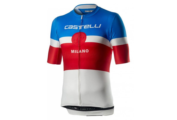 Castelli Milano Jersey - White - Classic Cycling