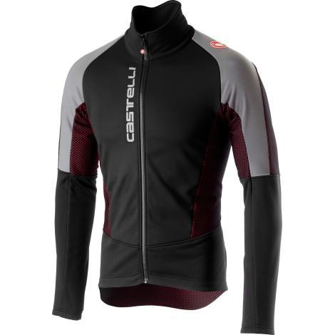 Castelli Mortirolo V Reflex Jacket - Black - Classic Cycling