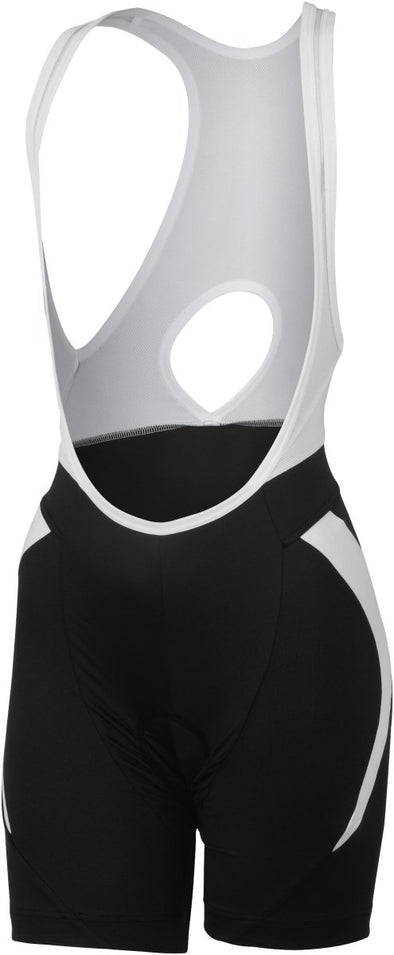 Castelli Palmares Due Bibshort - Black-White - Classic Cycling