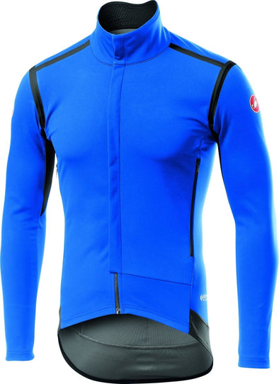 Castelli Perfetto RoS Long Sleeve Jersey - Drive Blue - Classic Cycling