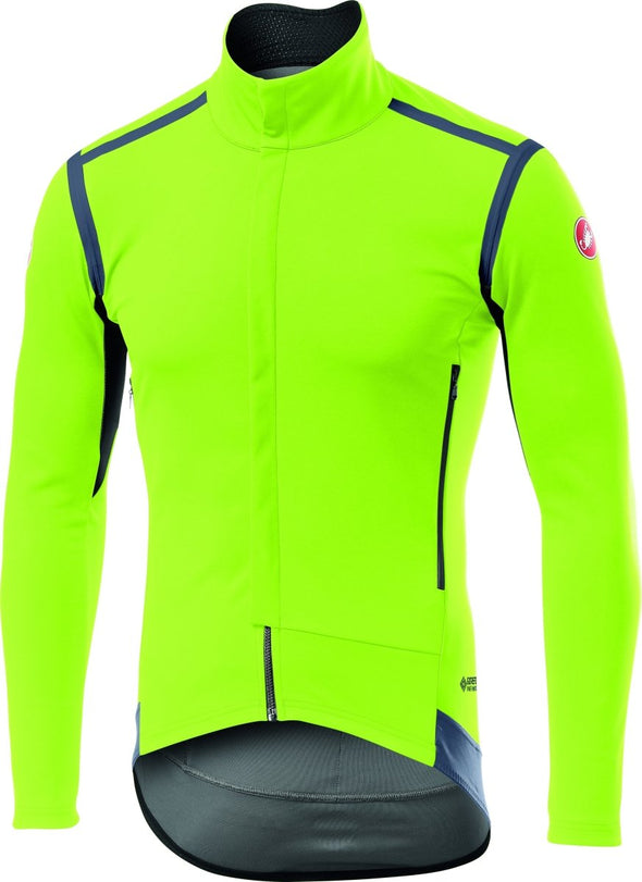 Castelli Perfetto RoS Long Sleeve Jersey - Fluo - Classic Cycling