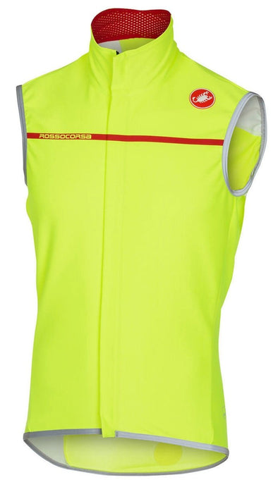 Castelli Perfetto Vest - Fluo Yellow - Classic Cycling
