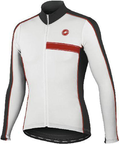 Castelli Privilegio Cycling Jersey - White - Classic Cycling