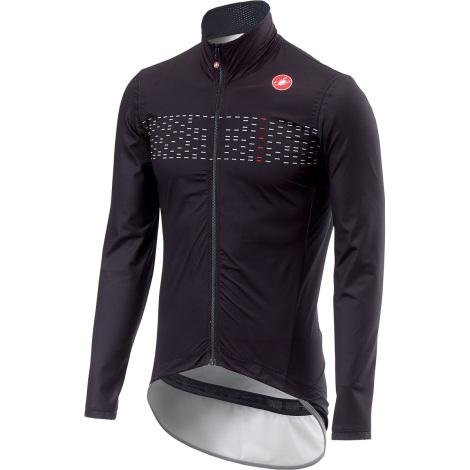 Castelli Pro Fit Light Rain Jacket - Black - Classic Cycling