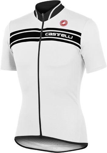 Castelli Prologo 3 Jersey - White - Black - Classic Cycling
