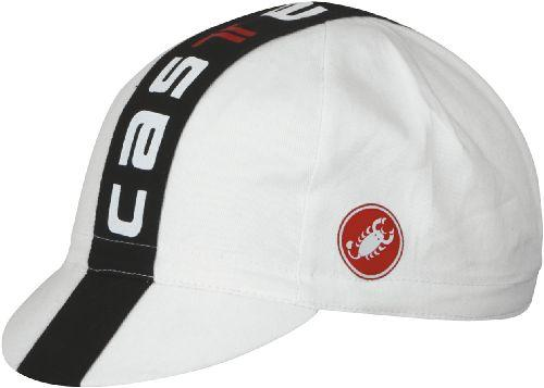 Castelli Prologo Cycling Cap White - Classic Cycling