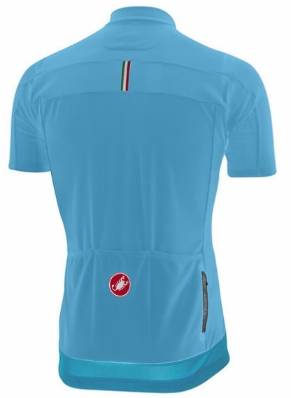 Castelli Prologo V Short Sleeve Jersey - Sky Blue - Classic Cycling