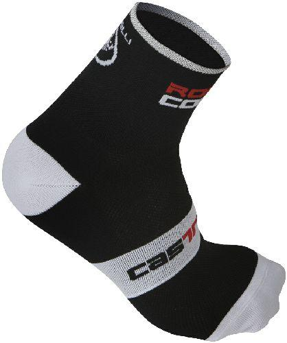 Castelli Rosso Corsa Cycling Sock 9cm - Black - Classic Cycling