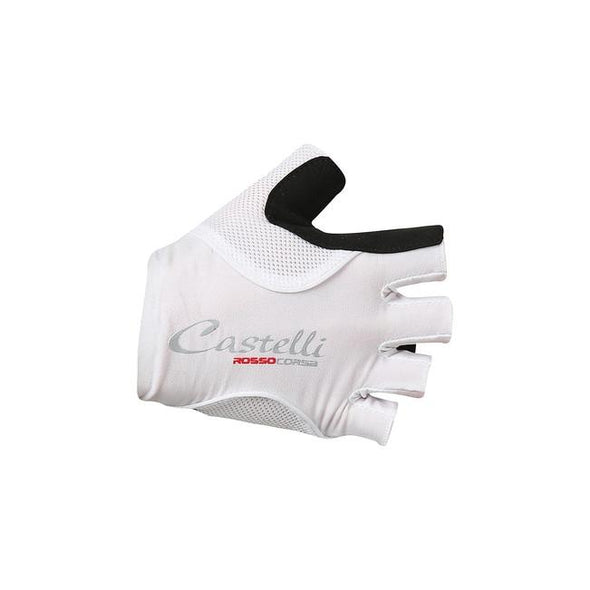 Castelli Rosso Corsa Pave W Glove - White - Classic Cycling