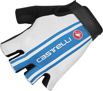 Castelli S. Tre 1 Cycling glove - White-Ocean - Classic Cycling