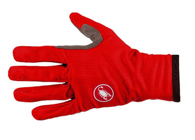 Castelli Scudo Glove - Red-Black - Classic Cycling