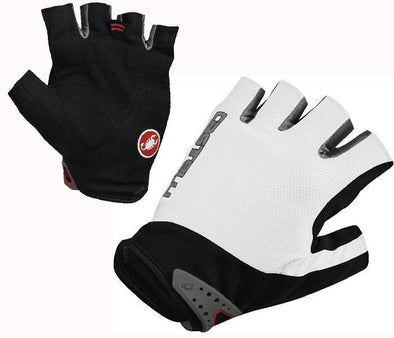 Castelli S.Uno Cycling Glove - White - Classic Cycling