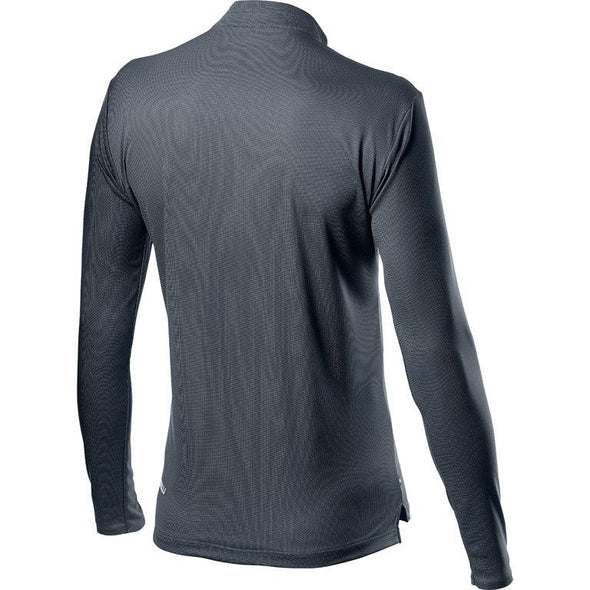 Castelli Tech Henley LS - Gray - Classic Cycling