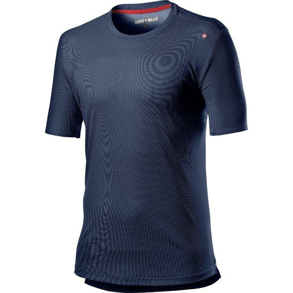 Castelli Tech Tee - Blue - Classic Cycling