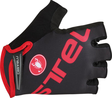 Castelli Tempo V Glove - Black-Red - Classic Cycling