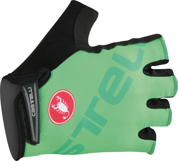 Castelli Tempo V Glove - Race Green - Classic Cycling