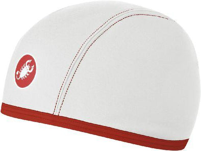 Castelli Thermo Winter Skully - White OSFA - Classic Cycling