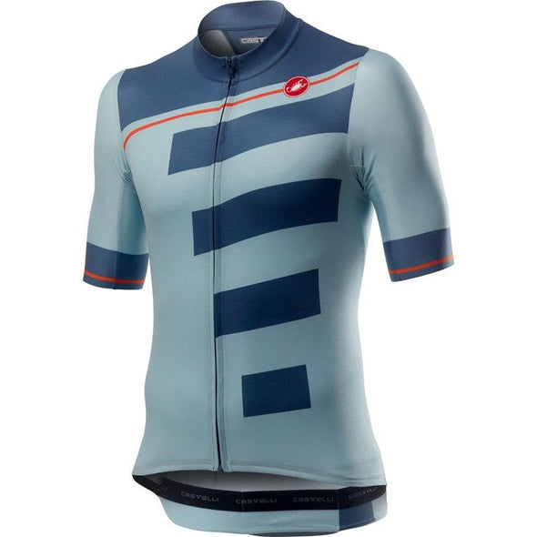 Castelli Trofeo Jersey - Sky Blue - Classic Cycling
