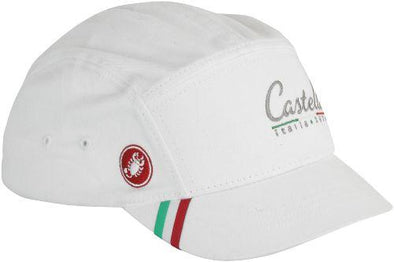 Castelli Unfair Advantage Cap White - OSFA - Classic Cycling