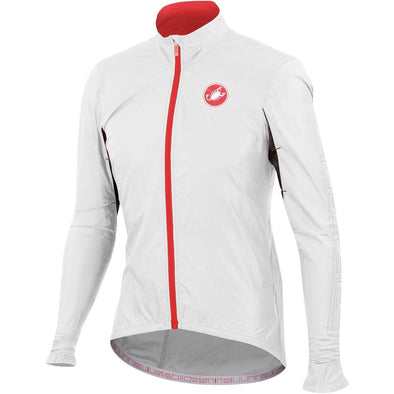 Castelli Velo Jacket - White - Classic Cycling