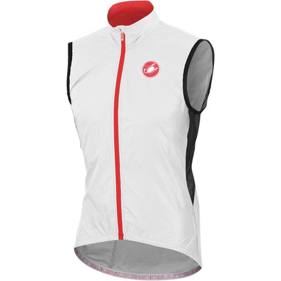 Castelli Velo Vest - White - Classic Cycling
