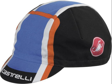 Castelli Velocissimo DS Cap - Blue - Classic Cycling