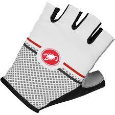 Castelli Velocissimo Giro Cycling Glove - White - Classic Cycling