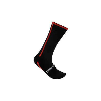 Castelli Venti Cycling Sock - Black-Red - Classic Cycling