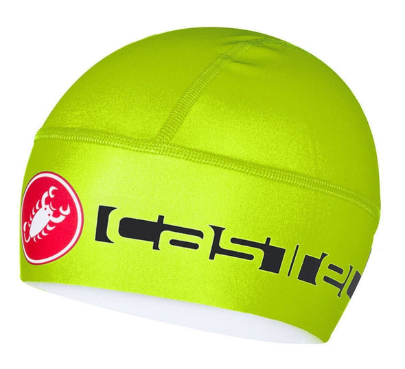 Castelli Viva Thermo Skully - Fluo Yellow - Classic Cycling
