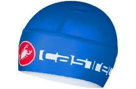 Castelli Viva Thermo Skully Winter Cap -Blue - Classic Cycling