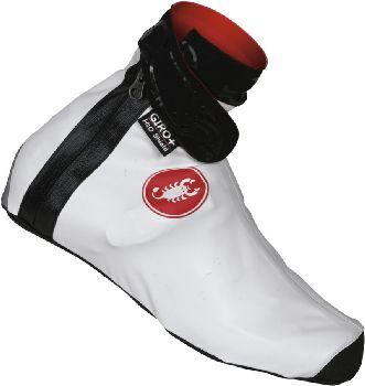 Castelli Winter Pioggia 2 Shoecover - Bootie White - Classic Cycling