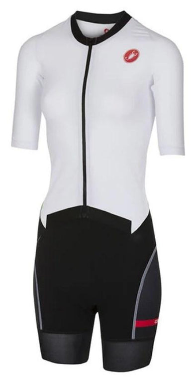 Castelli Women's All Out W Speed Suit - White - Classic Cycling