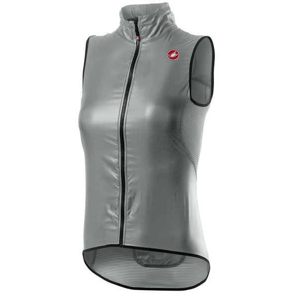 Castelli Women's Aria W. Vest - Silver Gray - Classic Cycling