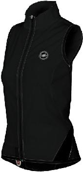 Castelli Womens Brezza Due Vest - Black - Classic Cycling