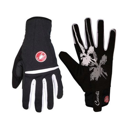 Castelli Women's Cromo Glove - White Grey - Classic Cycling