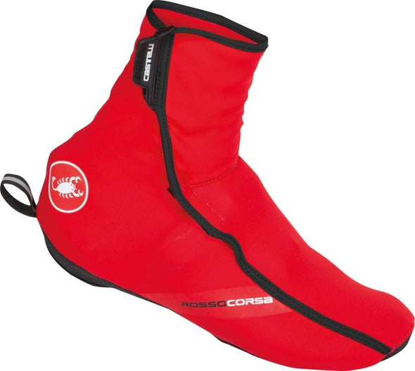 Castelli Women's Difesa Shoe Cover - Red - Classic Cycling