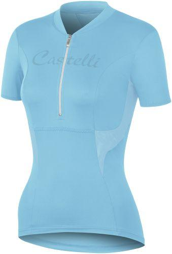 Castelli Womens Dolce Cycling Jersey - Turquoise - Classic Cycling