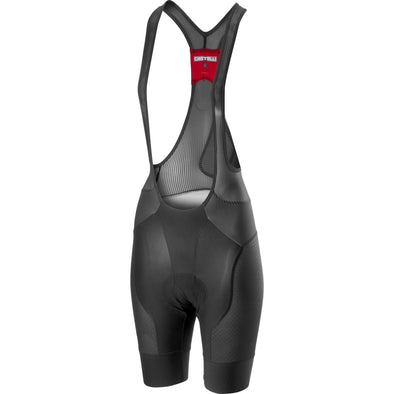 Castelli Women's Free Aero Race 4 W Bibshor - Gray - Classic Cycling