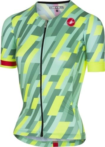 Castelli Women's Free Speed W Race Jersey - Green - Classic Cycling