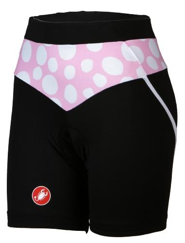 Castelli Womens Koori Shorts - Black - Classic Cycling