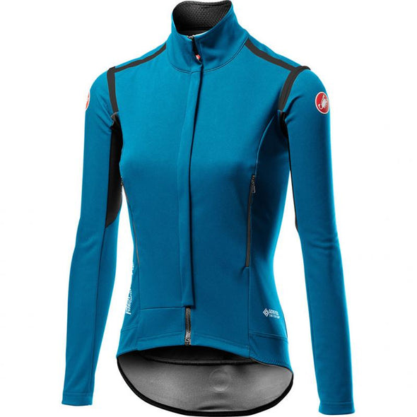 Castelli Women's Perfetto RoS W Long Sleeve - Blue - Classic Cycling