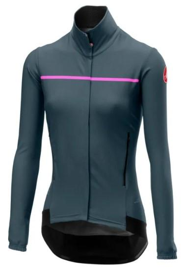 Castelli Women's Perfetto W Long Sleeve Gray - Classic Cycling