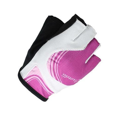 Castelli Women's Perla Due Gloves - White Pink - Classic Cycling