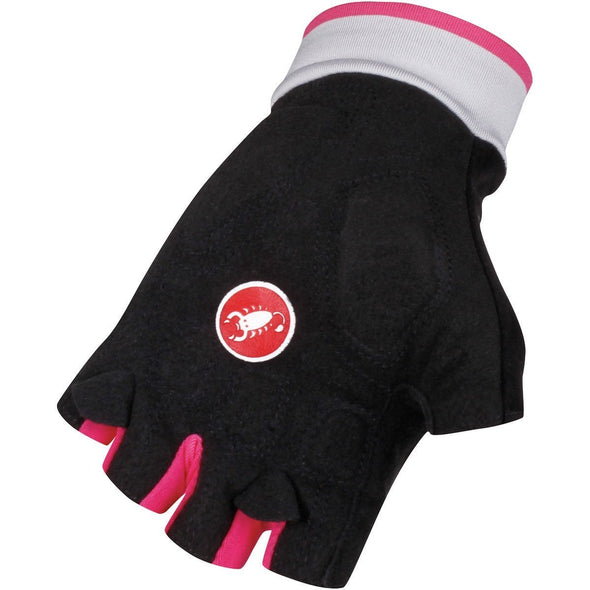 Castelli Women's Perla Gloves - Black Pink - Classic Cycling