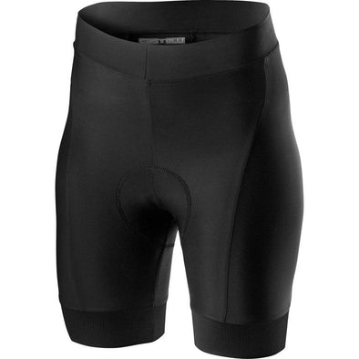 Castelli Women's Prima W. Short - Black - Classic Cycling