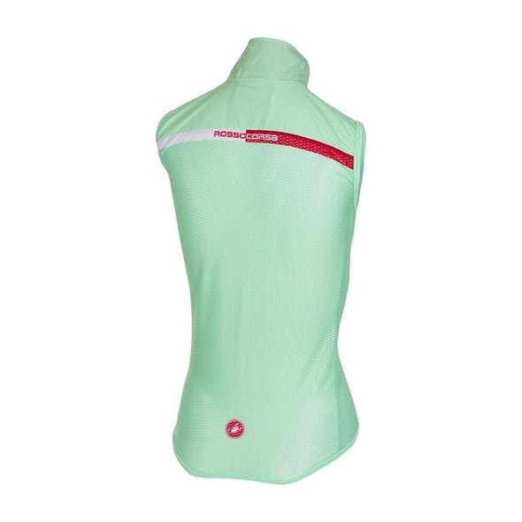 Castelli Women's Pro Light W Wind Vest - Green - Classic Cycling