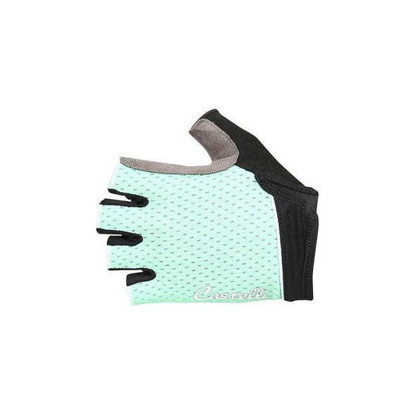 Castelli Women's Roubaix W Gel Glove - Green - Classic Cycling